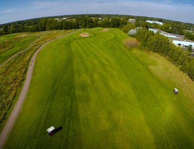 Hole #12 Middle fairway